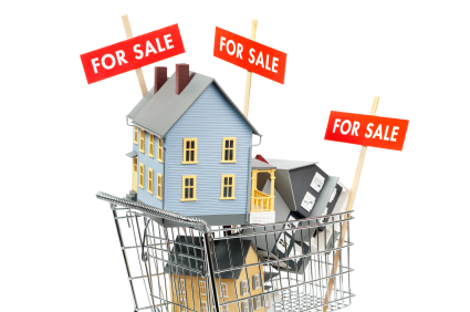 When looking to buy a house how many properties should you see in one day?